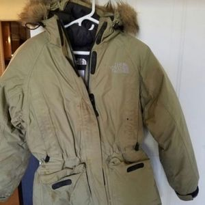 Womens north face winter jacket
